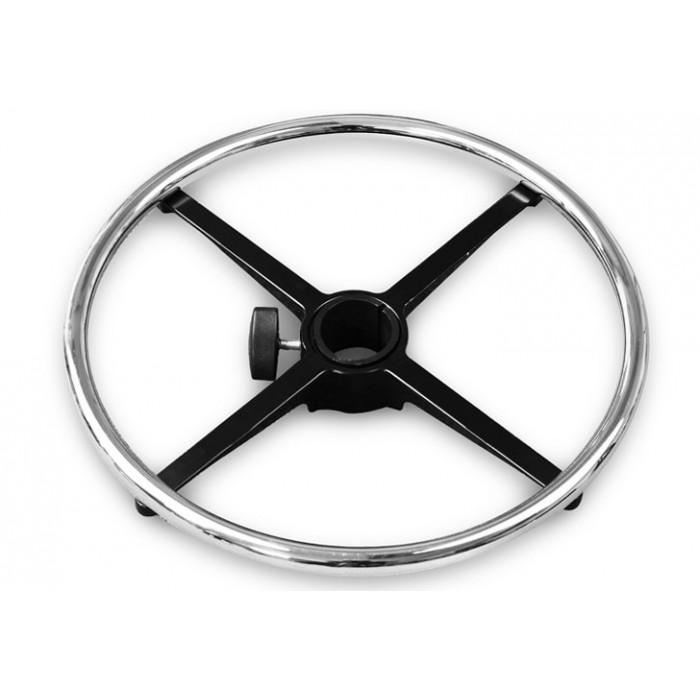 Кольцо для ног (Ring Base) хромированное