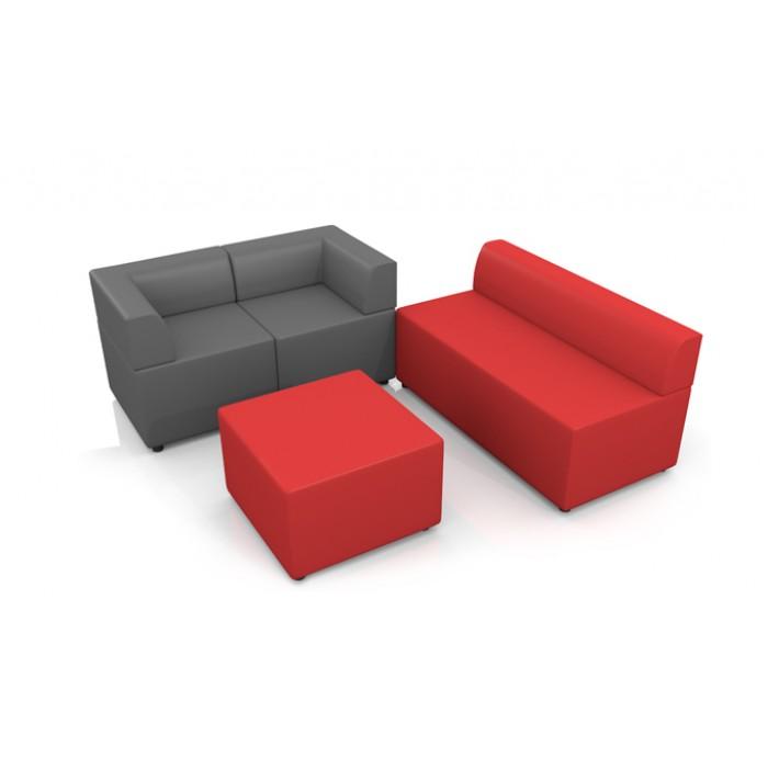 Офисный диван Chairman Оптима модуль двухместный